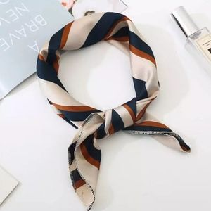 Soft Silky Square Scarf for Bag Head Neck Hair Bag